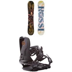 Rossignol Angus Snowboard  + Rome Targa Snowboard Bindings 2017