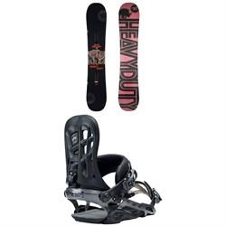 Rossignol Jibsaw Heavy Duty Snowboard + Rome 390 Boss Snowboard Bindings