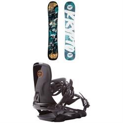 Rossignol Krypto Snowboard  + Rome Targa Snowboard Bindings 2017