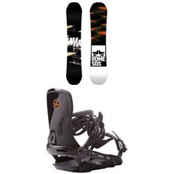 Rome Mod Rocker Snowboard  + Rome Targa Snowboard Bindings 2017
