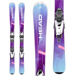 Head Joy Skis ​+ SLR 7.5 Bindings - Girls' 2019