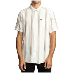 RVCA Split Stripe Short-Sleeve Shirt
