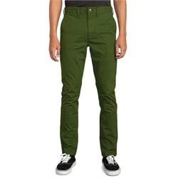 RVCA Daggers Slim-Straight Chino Pants