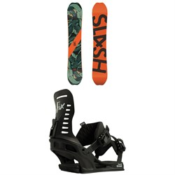 Slash Happy Place Snowboard ​+ Fix Park Truce Snowboard Bindings 2019