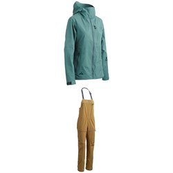 Strafe Meadow Jacket - Women's ​+ Strafe Scarlett Bib Pants - Women's