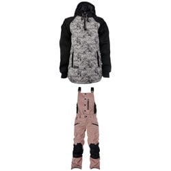 Saga Quilted Anorak - Women's ​+ Saga Rogue Bib Pants - Women's