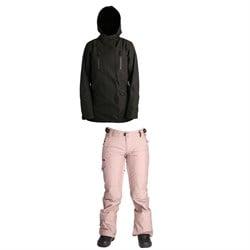 Ride Ravenna Shell Jacket + Ride Roxhill Pants - Women's