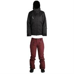 Ride Cherry Jacket + Ride Leschi Pants - Women's