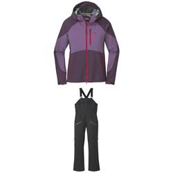 Outdoor Research Hemispheres Jacket + Bibs - Women's