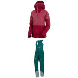 Mammut Alvier Armor HS Hooded Jacket + Mammut Alvier HS Soft Bib Pants - Women's