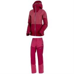 Mammut Alvier Armor HS Hooded Jacket + Pants - Women's