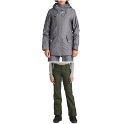 Holden Fishtail Jacket ​+ Holden Standard Pants - Women's
