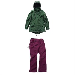Holden Fishtail Jacket + Holden Standard Pants - Women's