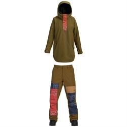 Burton Chuteout Anorak Jacket + Burton Twentyounce Pants - Women's