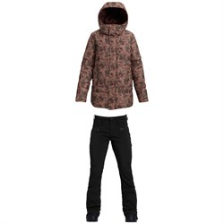 Burton Mora Moss Down Jacket ​+ Burton Ivy Over-Boot Pants - Women's