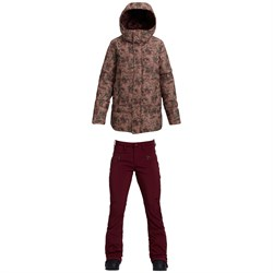 Burton Mora Moss Down Jacket + Burton Ivy Over-Boot Pants - Women's