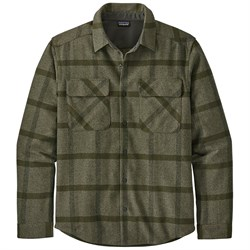 Patagonia Long-Sleeved Recyled Wool Shirt