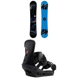 K2 Standard Snowboard + Burton Freestyle Snowboard Bindings 2019