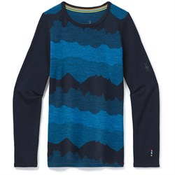 Smartwool Merino 250 Baselayer Pattern Crew - Kids'