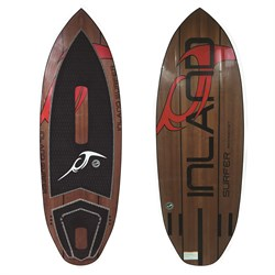 Inland Surfer Red Rocket Wakesurf Board 2019