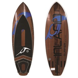 Inland Surfer Blue Lake Wakesurf Board 2019