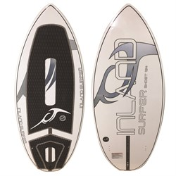 Inland Surfer Ghost Chrome Skim 134 Wakesurf Board 2019