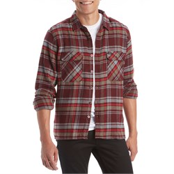 Brixton Archie Long-Sleeve Flannel Shirt