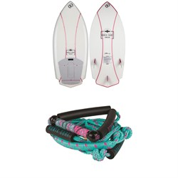 Ronix Potbelly Rocket Naked Wakesurf Board ​+ Ronix 10
