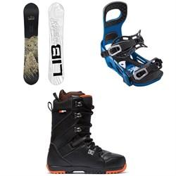 Lib Tech Skate Banana BTX Snowboard + Bent Metal Joint Snowboard Bindings + DC Mutiny Snowboard Boots