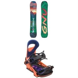 GNU B-Pro C3 Snowboard - Women's + Bent Metal Upshot Snowboard Bindings - Women's