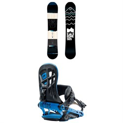 Rome Mountain Division Snowboard + 390 Boss Snowboard Bindings 2019
