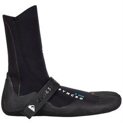 Quiksilver 3mm Syncro Split Toe Wetsuit Booties