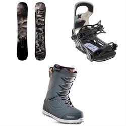 Lib Tech Box Knife C3 Snowboard ​+ Bent Metal Logic Snowboard Bindings ​+ thirtytwo Zephyr Snowboard Boots 2019