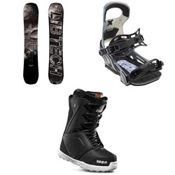 Lib Tech Box Knife C3 Snowboard ​+ Bent Metal Logic Snowboard Bindings ​+ thirtytwo Lashed Snowboard Boots 2019