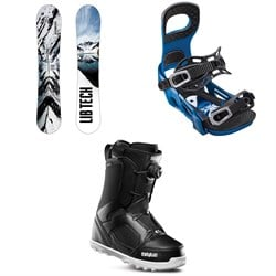 Lib Tech Cold Brew C2 Snowboard ​+ Bent Metal Joint Snowboard Bindings ​+ thirtytwo STW Boa Snowboard Boots 2019