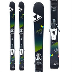 Fischer Pro MTN Jr Skis ​+ FJ4 AC SLR Ski Bindings - Boys'