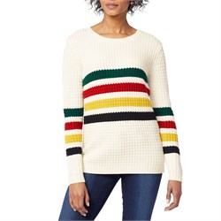 Pendleton Glacier Stripe Merino Sweater - Women's