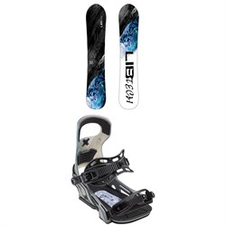 Lib Tech Attack Banana HP C2E Snowboard ​+ Bent Metal Logic Snowboard Bindings