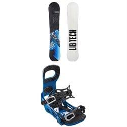 Lib Tech Terrain Wrecker C2X Snowboard + Bent Metal Joint Snowboard Bindings 2019