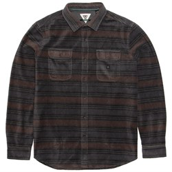 Vissla Fade Out Long-Sleeve Flannel Shirt