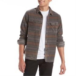 Vissla Fade Out Long-Sleeve Flannel Shirt