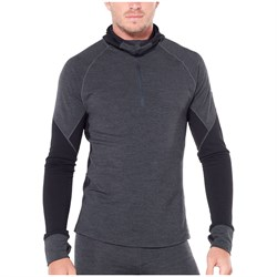 Icebreaker 260 Zone Hooded Long Sleeve Half Zip