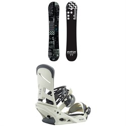 Burton Amplifier Snowboard + Burton Mission Snowboard Bindings 2019