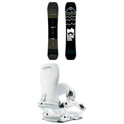 Rome Ravine Snowboard + Rome Katana Snowboard Bindings 2019