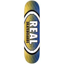 Real Parallel Fade Oval 8.06 Skateboard Deck