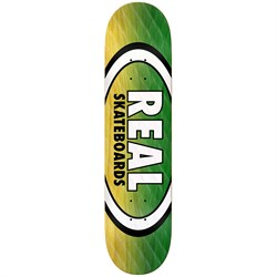 Real Real Parallel Fade Oval 8.5 Skateboard Deck