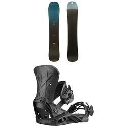 Salomon Speedway Snowboard + Salomon Defender Snowboard Bindings