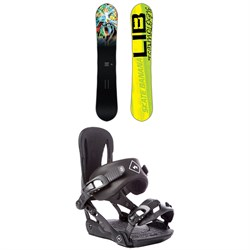 Lib Tech Skate Banana BTX Narrow Snowboard ​+ Rome Strut Snowboard Bindings - Women's