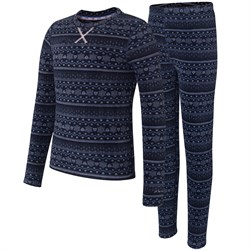 Terramar Winter Warmers Fleece Baselayer Set - Kids'