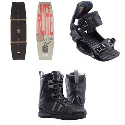 Hyperlite Dipstick Wakeboard ​+ The System Pro Wakeboard Bindings ​+ Murray Wakeboard Boots 2019